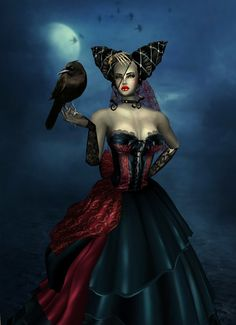 """Queen of Darkness"" if you dont think ist creepy go then......"
