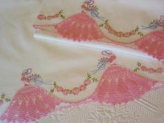 Vintage Southern Belle Pillowcases