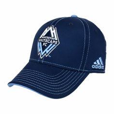 Vancouver Whitecaps FC adidas  Authentic Flex Fit Team Cap - Navy - Click to enlarge