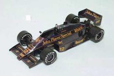 F1 Paper Model - Lotus 98T Paper Car Free Template Download…