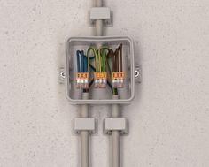 Boitier électrique raccordement avec wago