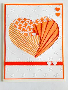 Irish folding Heart card