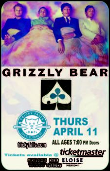 Grizzly Bear | Tricky Falls | April 11, 2013 #Music #ElPaso #Events