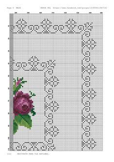 Cross Stitching, Cross Stitch Embroidery, Cross Stitch Patterns, White Crosses, Stitch 2, Crochet Chart, Vintage Patterns, Design Elements, Needlework