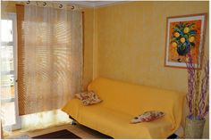 A one bedroom apartment to rent on Orlando Tenerife. It can sleep up to 4 people with a double bed in the bedroom and a double sofa bed in the lounge. One Bedroom Apartment, Double Beds, Tenerife, Sofa Bed, Orlando, Lounge, Sleep, People, Furniture