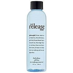 Sephora: Philosophy : Just Release Me™ Dual-Phase Oil-Free Makeup Remover : eye-makeup-remover Best Eye Makeup Remover, Oil Free Makeup Remover, Natural Makeup Remover, Best Natural Makeup, Makeup Remover Wipes, Makeup Removers, Waterproof Makeup, Makeup Blog, Beauty