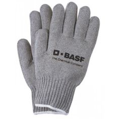 Custom Imprinted Promotional Gray Knit Gloves with Elastic Wrist Hand Gloves, Work Gloves, Safety Gloves, Knitted Gloves, White Style, Cotton Canvas, Gray, Knitting, Leather