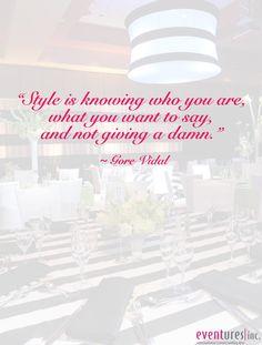 Gore Vidal quote ~ #Eventures