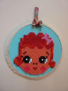 Hama Bead doll