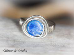 Lapislazuli Ring silber von SilberundStein auf Etsy Schmuck  Ringe  Solitär-Ringe  lapislazuli  ring  silber  lapis  blau  dunkelblau  echt  edelsteinring edelstein ring  lapis ring  lapislazuli ring  ring mit edelsteinen  lapis silber