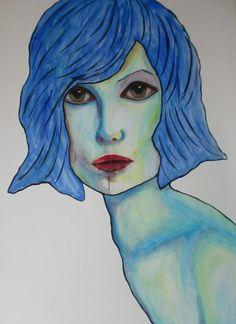 Portret Jane, 50x70cm