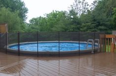 above ground pool fencing -- Curated by: Desert Pools And Spas | 389 Tranquille Rd, Kamloops, BC, V2B 3G4 | 2505545548