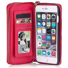 Phone Case with Card Slot Wrist Strap Magnetic Leather Wallet Case for iPhone 5/6/7 Samsung Galaxy S6/7/8 - For 4.0 inches (iPhone5-5S-5E), Red  https://topcellulardeals.com/product/phone-case-with-card-slot-wrist-strap-magnetic-leather-wallet-case-for-iphone-567-samsung-galaxy-s678/?attribute_pa_size=for-4-0-inches-iphone5-5s-5e&attribute_pa_color=red  2 IN 1 DESIGN & MULTIFUCTIONAL WALLET CASE:This wallet includes muti-card slots including 2 ID window and 2 cash/change