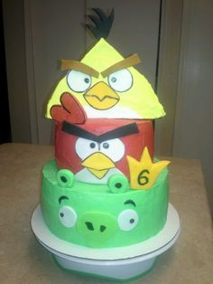 Angry birds cake...could I make this?