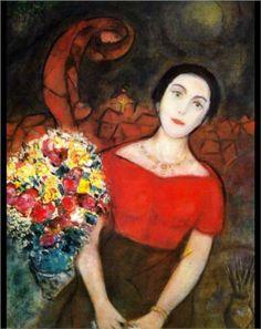 Marc Chagall: Portrait of Vava #pavelife #art #inspiring