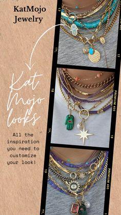 Cute Jewelry, Boho Jewelry, Jewelry Crafts, Jewelry Art, Beaded Jewelry, Jewelery, Vintage Jewelry, Jewelry Accessories, Fashion Jewelry