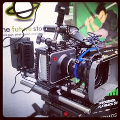 Blackmagic Camera rig from the Future Store in the Netherlands! By @WoodenCamera