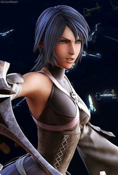 Aqua from Kingdom Hearts! :3