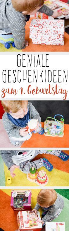 Kinder Geschenke Ideen zum 1. Geburtstag! Welches Spielzeug ist sinnvoll für Kleinkinder zum Geburtstag oder Weihnachten?