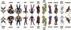 D.C. Villains Character Sheet 026