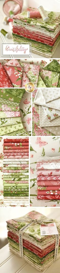 Sewing Art, Sewing Crafts, Sewing Projects, Shabby Chic Fabric, Shabby Fabrics, Patchwork Quilt Patterns, Patchwork Fabric, Quilting Fabric, Floral Quilts