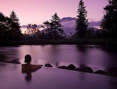 One of the Best Japanese Baths - The Hilton Niseko Village Hotel Onsen