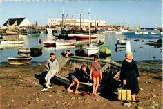 Le port de Lesconil au début des années 60