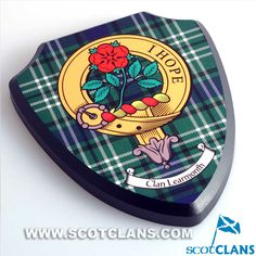 Learmonth Clan Crest Plaque