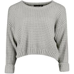 Amber Crop Jumper ($2.91) ❤ liked on Polyvore featuring tops, sweaters, shirts, jumpers, white crop shirt, white crop sweater, crop shirts, cropped jumper and jumpers sweaters