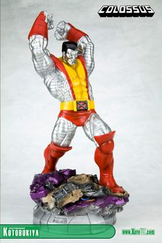 X-MEN DANGER ROOM SESSIONS COLOSSUS FINE ART STATUE
