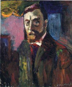 Self-Portrait  - Henri Matisse