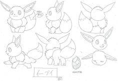Production Artwork from the Pokemon Anime and Games! Character Model Sheet, Character Modeling, Concept Art Books, Chihuahua, Pokemon Sketch, Pokemon People, Original Pokemon, Cute Pokemon, Pika Pokemon