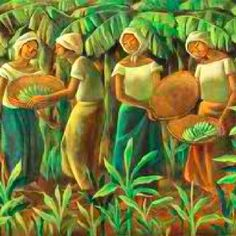 The León Gallery's Magnificent September Auction promises to present an impressive set of art work from the most esteemed names of the Philippine art world. Filipino Art, Filipino Culture, Philippine Art, Tropical Art, Contemporary Artwork, Naive Art, Art Pictures, Art Pics, Beautiful Artwork