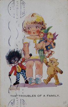 Agnes Richardson antique postcard.