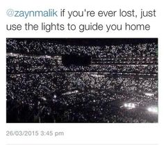 We'll always be waiting for you to find your way back home, Zayn. Always.