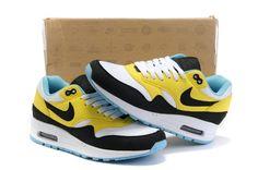 size 40 76bc4 ff920 Nike Air Max Womens White 87 Shoes Cheap Yellow Black,  75.44    www.buynike.net