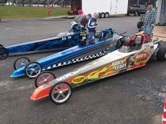 Junior Dragsters, Modern day Go Carts