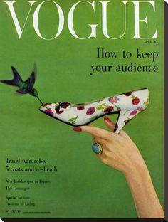 Vogue April 1957 by Richard Rutledge