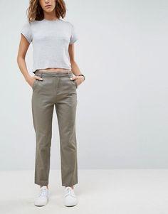 ASOS | ASOS DESIGN chino trousers in slate grey