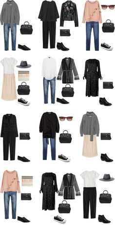 Packing List: 14 days in Tokyo, Japan, in Februar 2017- Outfit Options 1. livelovesara