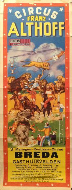 Circus collection: Circus Franz Althoff 1953