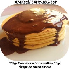 Ricas Tortitas para desayunar  ahora a seguir con la mañana  #hsnmola #evocakes