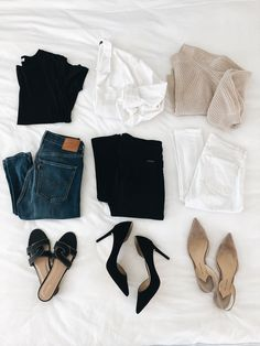 Wardrobe Refresh: Must-haves and Closet Essentials I Think Everyone Should Own - Stylish OMG Mode Outfits, Casual Outfits, Fashion Outfits, Fashion Mode, Womens Fashion, Fashion Trends, Petite Fashion, 80s Fashion, Style Fashion