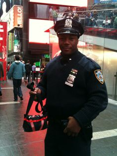 Nypd Times Square - New York - 22/12/13