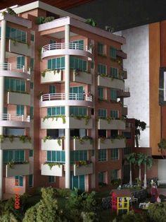 Detalle del edificio maquetasquevedo@yahoo.com