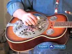 How to Play Dobro Slide Guitar Music : Finger Picks for Dobro Slide Guitar