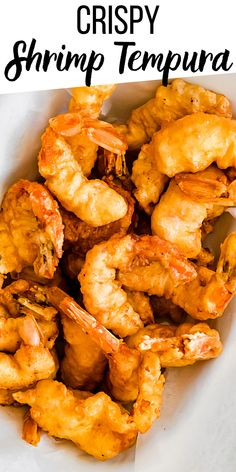 Crispy, crunchy shrimp with a delicate, flaky batter? Yes please! This easy pan-fried Shrimp Tempura is about to become your new favorite seafood recipe. Pan Fried Shrimp, Shrimp Tempura, Appetizer Salads, Best Appetizers, Best Seafood Recipes, Fish Recipes, Fun Easy Recipes, Summer Recipes, Easy Weekday Meals