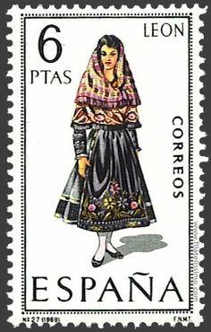 Trajes tradicionales de España: León