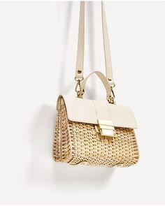 Zara Straw Mini Bag Ss 2017