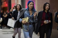 Here's What NY's Most Stylish Wore to Calvin Klein's SS18 Show